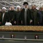 مراسم تشییع حجت الاسلام والمسلمین هاشمی در دانشگاه تهران